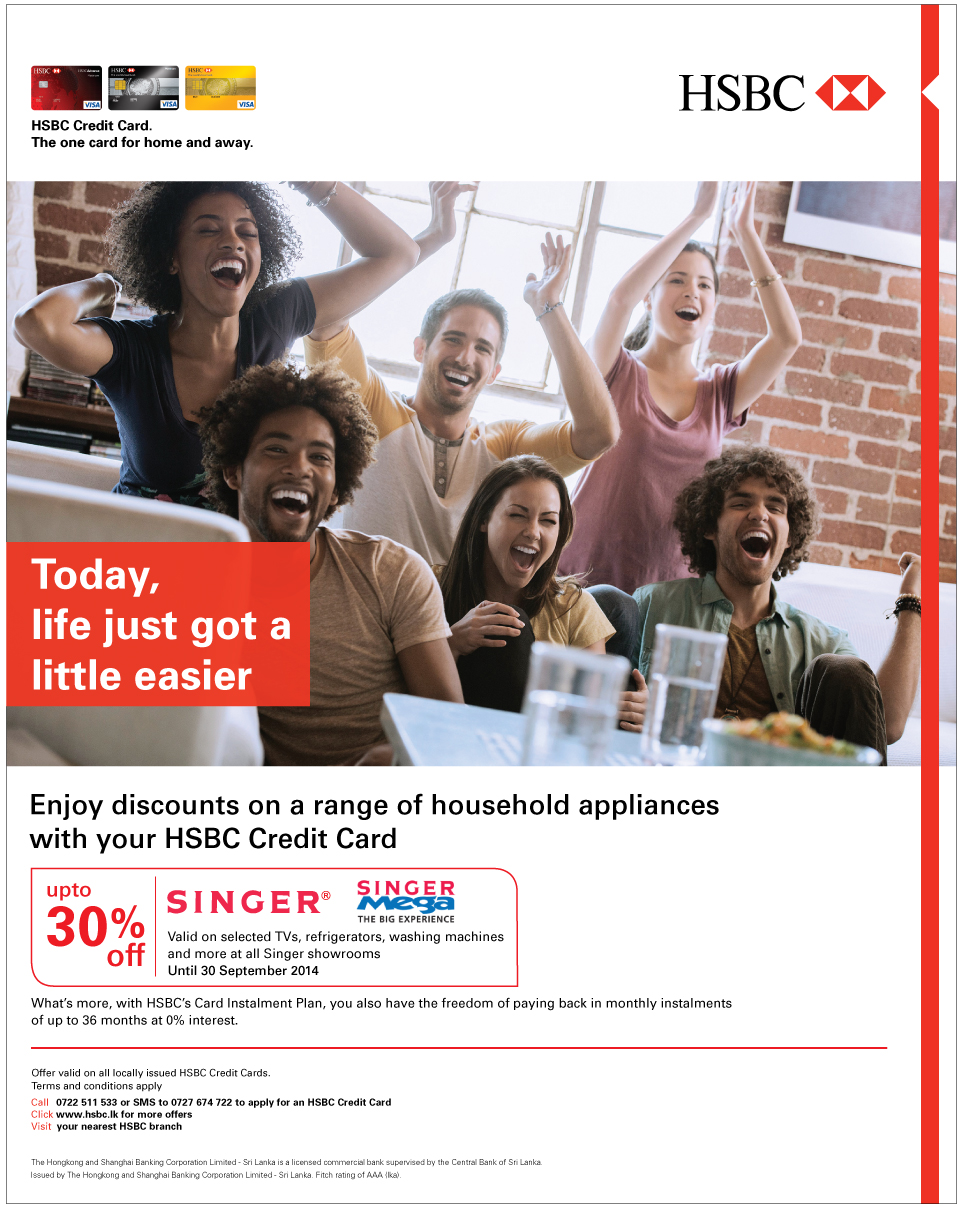 HSBC Credit Card Offers [Archive] - ElaKiri Community