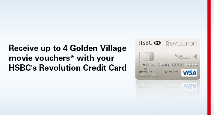 Get Up To 4 GV Movie Vouchers With HSBC Paywave Promotion