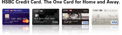 HSBC Credit Card. The One Card for Home and Away.